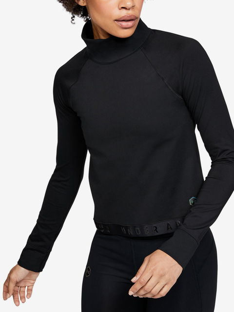 Tričko Under Armour Cg Rush Ls-Blk