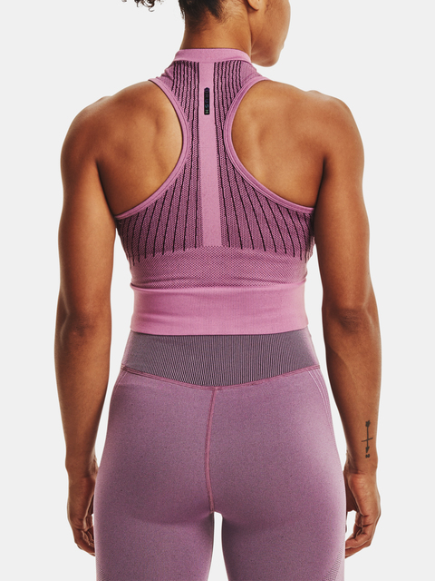 Tielko Under Armour Rush Seamless Crop Top-PPL