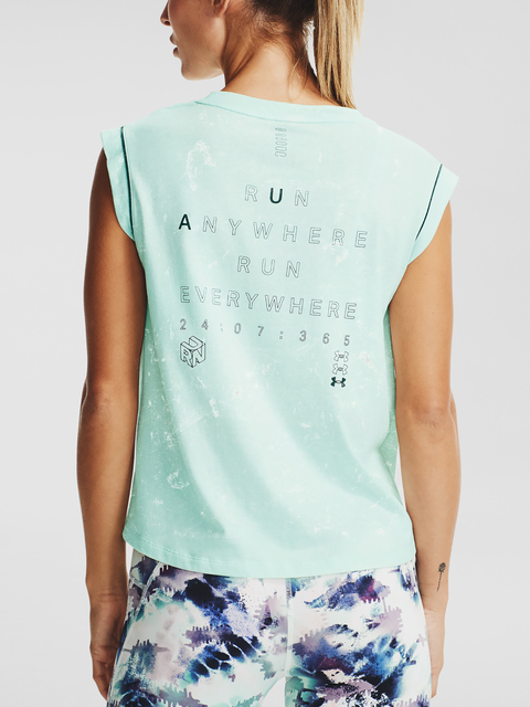 Mikina Under Armour UA Run Anywhere SS-BLU