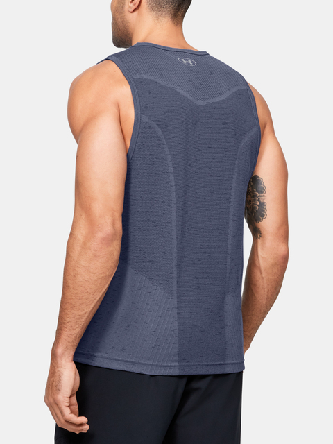 Tielko Under Armour UA Seamless Tank-BLU