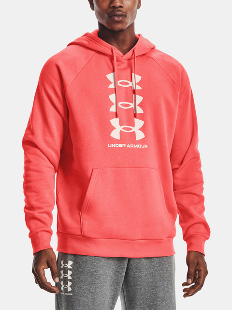 Mikina Under Armour UA Rival Flc Multilogo HD-RED