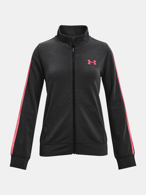 Mikina Under Armour Rival Terry Taped FZ-BLK