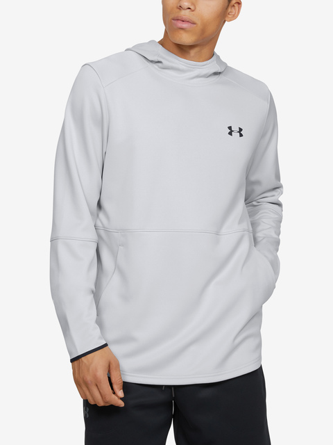 Mikina Under Armour MK1 Warmup PO Hood-GRY