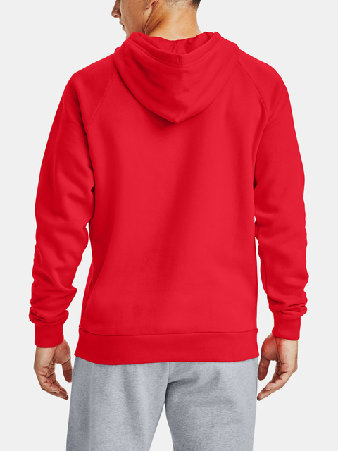 Mikina Under Armour Rival Fleece Hoodie-RED