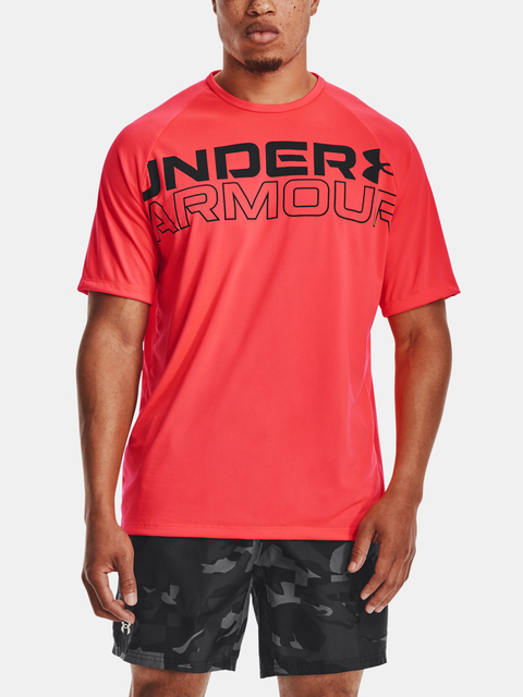Tričko Under Armour TECH 2.0 WORDMARK SS-RED