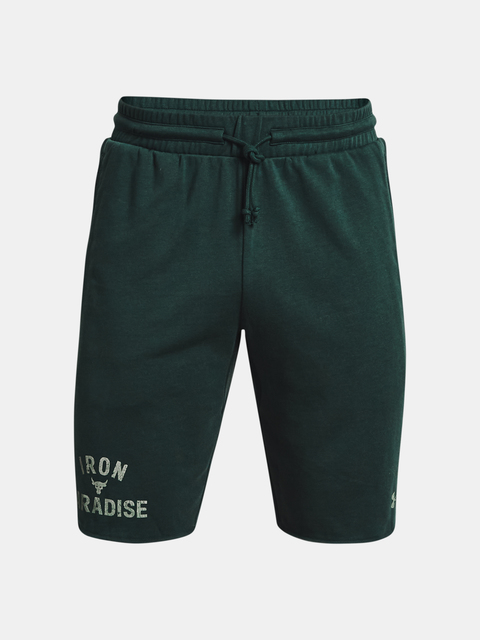 Kraťasy Under Armour  Pjt Rock Terry Iron Short-GRN