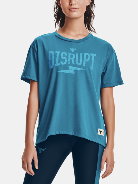 Tričko Under Armour Project Rock Disrupt SS-BLU