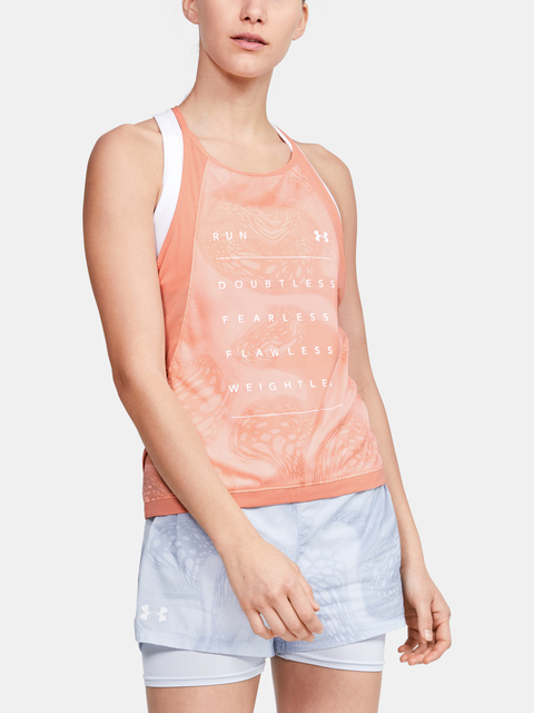 Tielko Under Armour W Qlifier Iso-Chill Weightless Tank