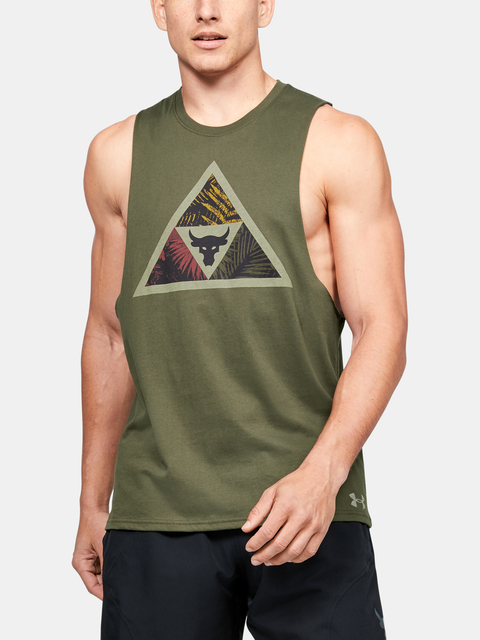 Tielko Under Armour Project Rock Mana Tank