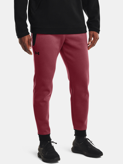 Nohavice Under Armour UA Recover Fleece Pant-RED