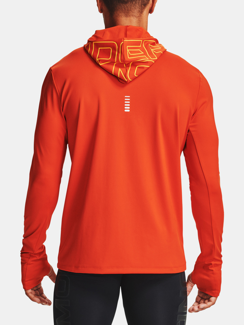 Mikina Under Armour Q. IGNIGHT CG Zip Hoodie-ORG