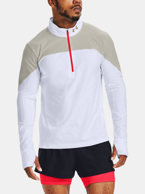 Tričko Under Armour Kazoku M Run Qlifier Half Zip