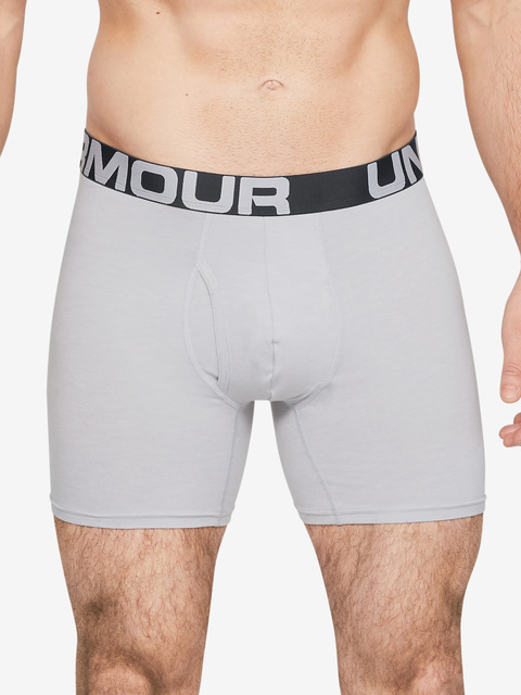 Boxerky Under Armour Charged Cotton 6In 3 Pack