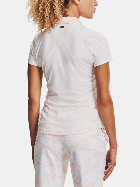 Tričko Under Armour Iso-Chill SS Polo-WHT