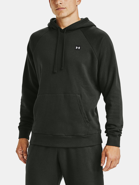 Mikina Under Armour UA Rival Fleece Hoodie-GRN