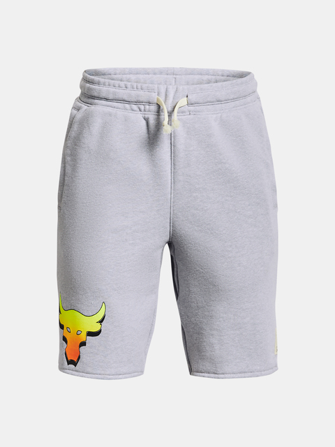 Kraťasy Under Armour UA Project Rock Terry Shorts-GRY