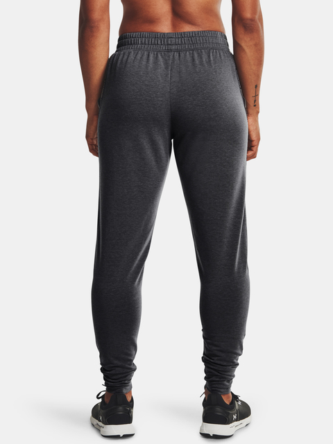 Tepláky Under Armour UA Rival Terry Taped Pant-GRY