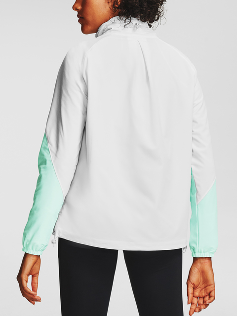 Bunda Under Armour Recover Woven CB Jacket-WHT