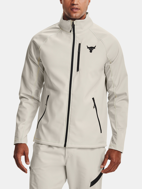 Bunda Under Armour Project Rock CGI Jkt-WHT