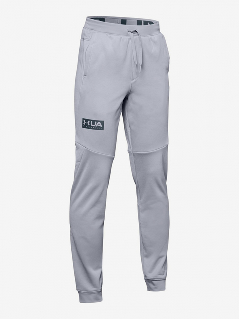 Tepláky Under Armour Game Time Fleece Pant-Gry