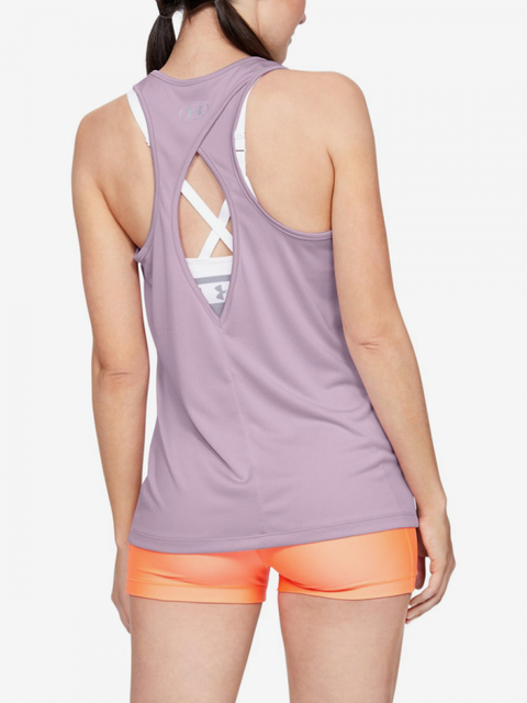 Tielko Under Armour Tech Tank - Graphic-Blu