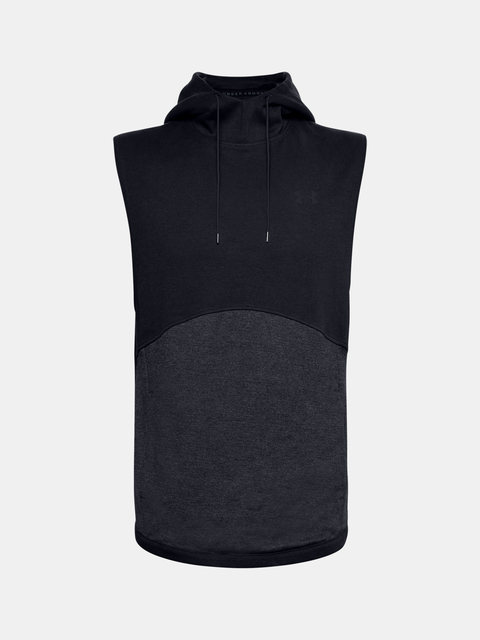 Mikina Under Armour DOUBLE KNIT SL HOODIE-BLK