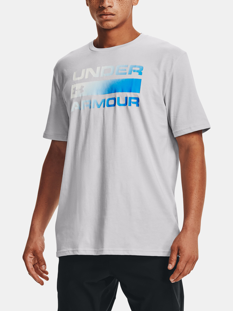 Tričko Under Armour TEAM ISSUE WORDMARK SS-GRY