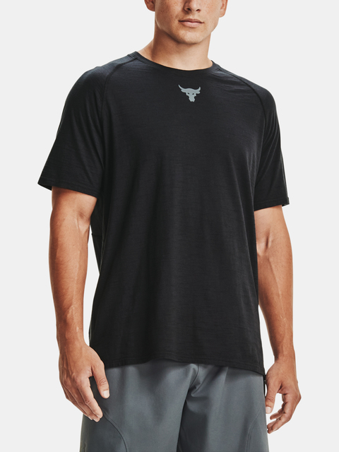 Tričko Under Armour PROJECT ROCK CC SS-BLK