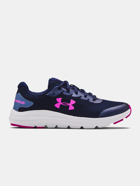 Topánky Under Armour UA GS Surge 2-NVY
