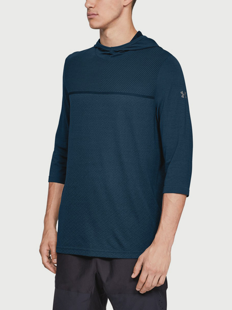 Tričko Under Armour Vanish Seamless 3/4 Sleeve Hoodie