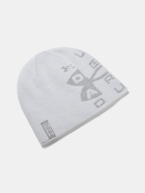 Čapica Under Armour Billboard Reversible Beanie-GRY