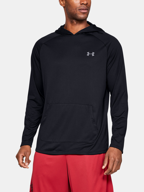 Tričko Under Armour Tech 2.0 Hoodie-BLK