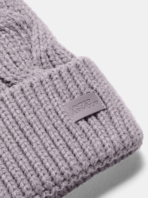 Čepice Under Armour Around Town Pom Beanie-PPL