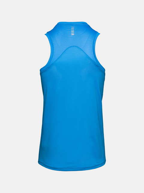 Tielko Under Armour Q LIFIER SINGLET-BLU