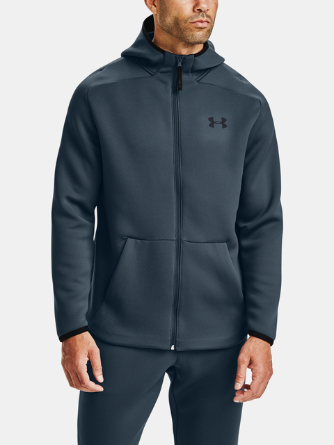Mikina Under Armour /MOVE FZ HOODIE-BLU