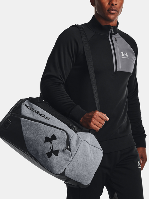 Taška Under Armour Contain Duo SM Duffle-GRY