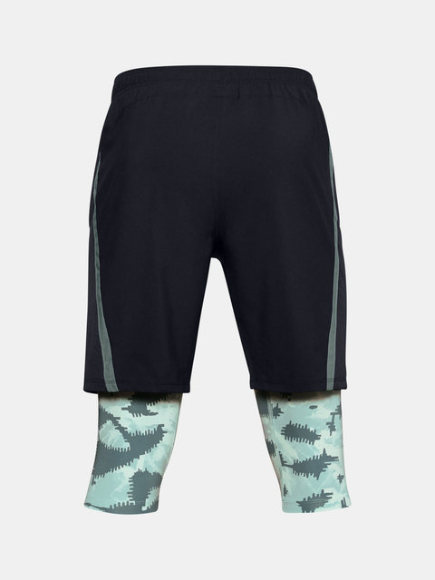 Kraťasy Under Armour M UA Launch SW Long 2-in-1 Printed Short