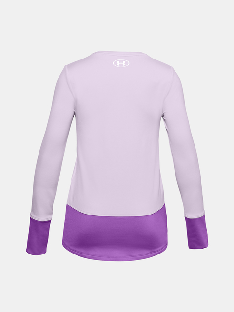 Tričko Under Armour ColdGear LS Crew-PPL