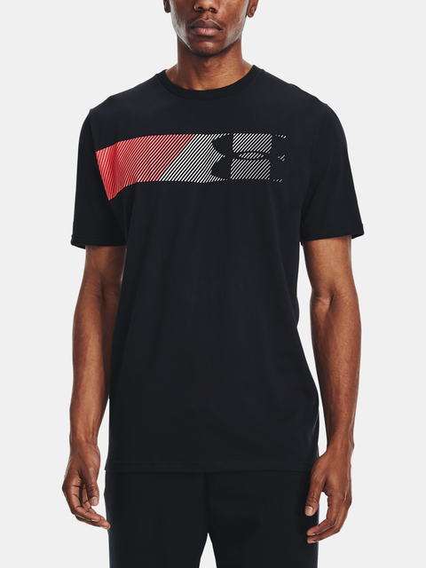 Tričko Under Armour UA FAST LEFT CHEST 2.0 SS-BLK