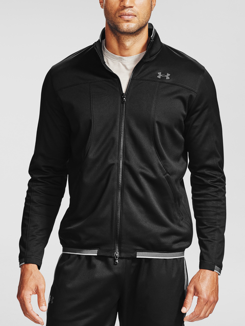 Mikina Under Armour UA Recover Knit Track Jacket-BLK