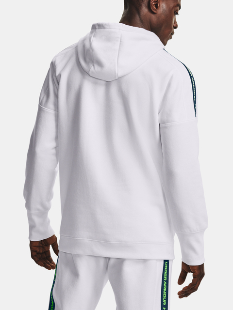 Mikina Under Armour Accelerate Off-Pitch Hoodie-WHT