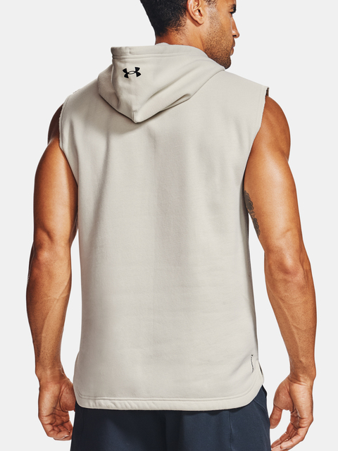 Mikina Under Armour PROJECT ROCK CC SL HOODIE-WHT