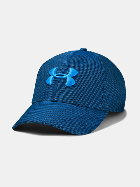 Šiltovka Under Armour UA Men's Heathered Blitzing 3.0-BLU