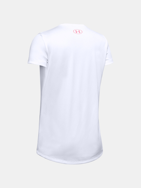 Tričko Under Armour Tech Graphic Big Logo SS T-Shirt-WHT