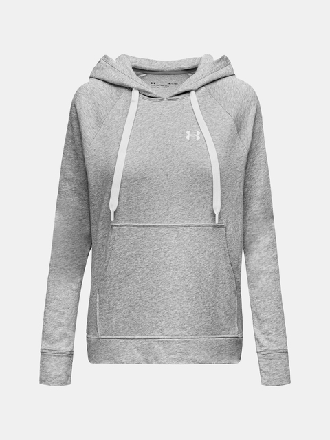 Mikina Under Armour UA Rival Terry PO HOODIE-GRY