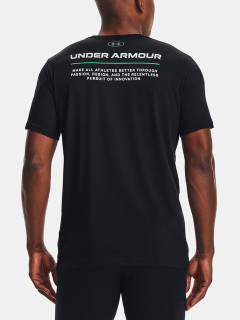 Tričko Under Armour UA BOXED ALL ATHLETES SS-BLK