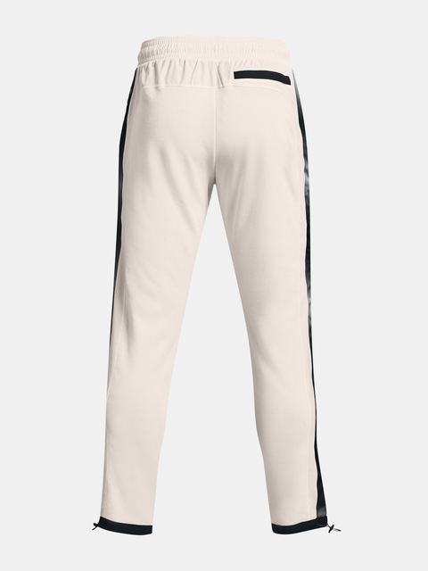 Nohavice Under Armour RIVAL TERRY AMP PANT-WHT