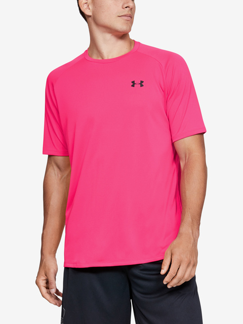 Tričko Under Armour Tech 2.0 SS Tee-PNK