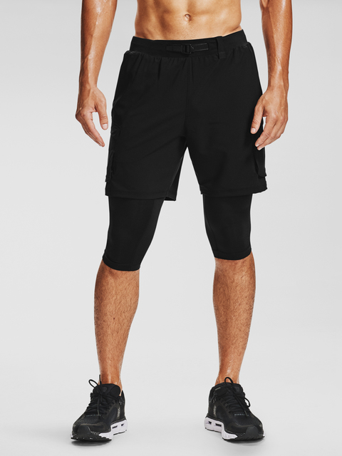Kraťasy Under Armour UA Run Anywhere 2N1 Long STS-BLK
