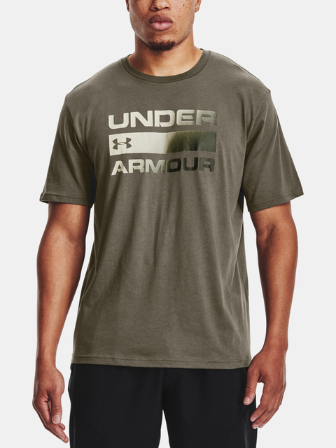 Tričko Under Armour UA TEAM ISSUE WORDMARK SS-GRN